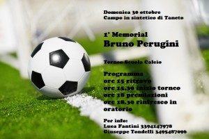1° Memorial Bruno Perugini