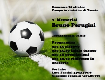 1° Memorial Bruno Perugini
