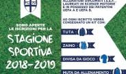 Scuola Calcio – Iscrizioni ancora possibili